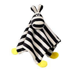 KLAPPA - Comfort blanket with soft toy