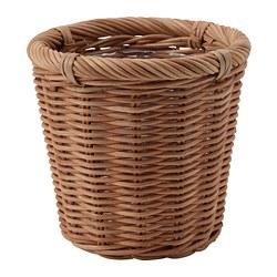 KAKTUSFIKON - Pot tanaman, rotan, 12 cm