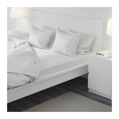 FÄRGMÅRA fitted sheet