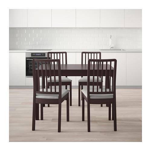 EKEDALEN/EKEDALEN meja dan 4 kursi