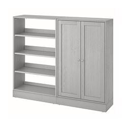 HAVSTA - Storage combination, grey