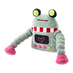 LATTJO - Soft toy, robot/light green