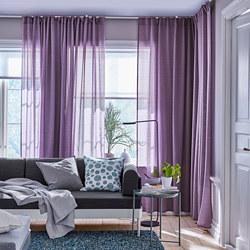 HILJA - Gorden, 1 pasang, ungu