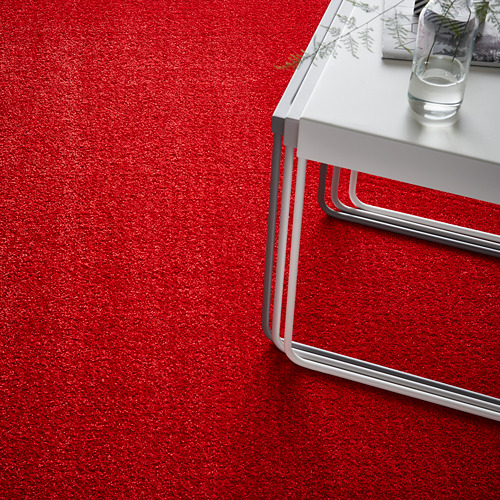 LANGSTED karpet, bulu tipis