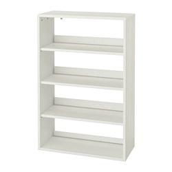 HAVSTA - Unit rak, putih, 81x35x123 cm