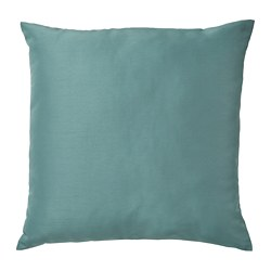 ULLKAKTUS - Cushion, grey-turquoise