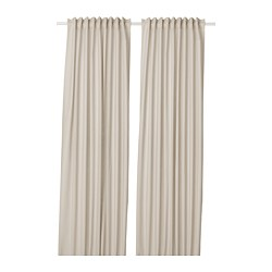 ANNALOUISA - Curtains, 1 pair, beige