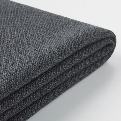 GRÖNLID - sarung sofa sudut, 3 dudukan, dengan ujung terbuka/Sporda abu-abu tua | IKEA Indonesia - PE666596_S4