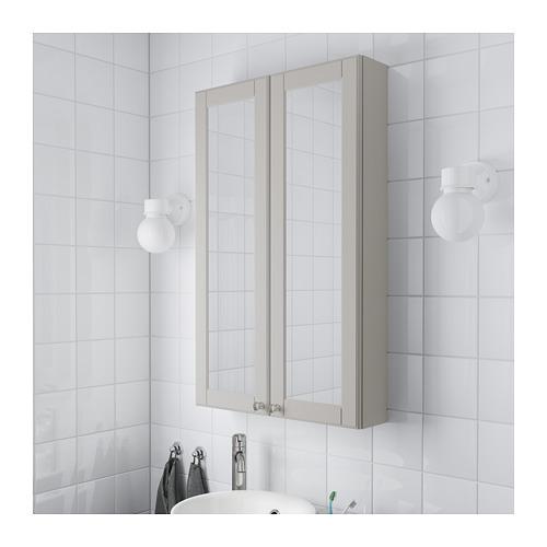 GODMORGON kabinet cermin 2 pintu