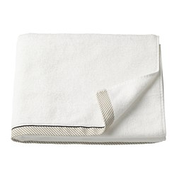 VIKFJÄRD - Bath towel, white