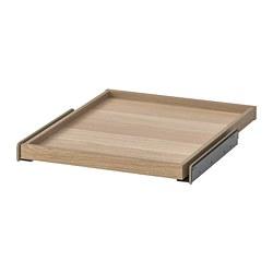 KOMPLEMENT - Laci sisipan, efek kayu oak diwarnai putih