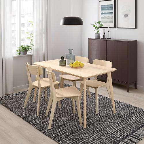 LISABO/LISABO meja dan 4 kursi
