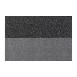 JERSIE - Door mat, dark grey