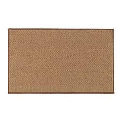 BIERSTED - Door mat, in/outdoor natural