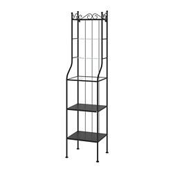 RÖNNSKÄR - Shelving unit, black