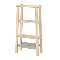 VILTO - Shelving unit, birch