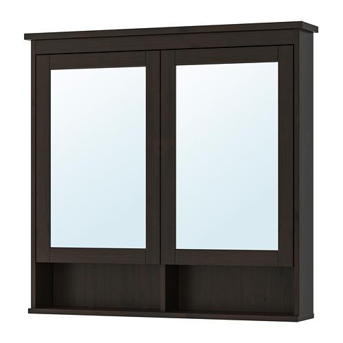 HEMNES kabinet cermin 2 pintu