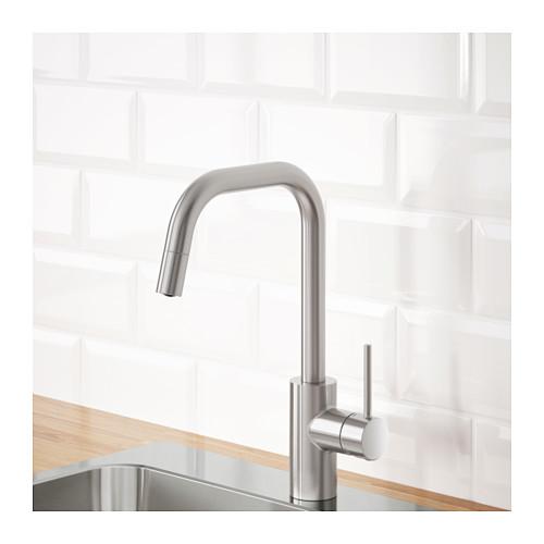 ÄLMAREN kitchen mixer tap w pull-out spout