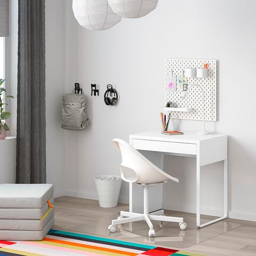 MICKE - meja, putih, 73x50 cm | IKEA Indonesia - PE787996_S4
