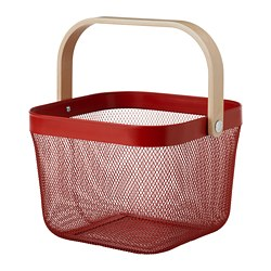 RISATORP - Basket, red