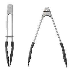 TILLÄMPAD - Tongs, stainless steel