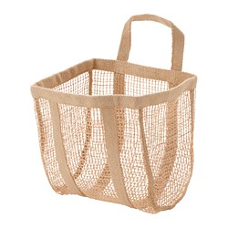 LUSTIGKURRE - Basket, natural jute