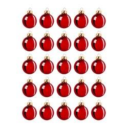 VINTER 2020 - Decoration, bauble, glass red