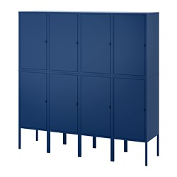 LIXHULT - Kombinasi penyimpanan, biru tua