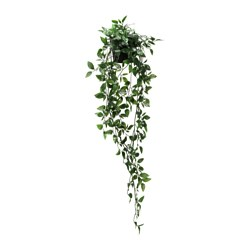 FEJKA - Artificial potted plant, in/outdoor/hanging