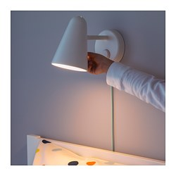 FUBBLA - LED wall lamp, white