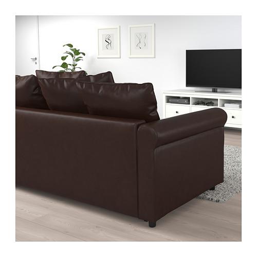 GRÖNLID Sofa tmpt tdr sdt, 4 dudukan