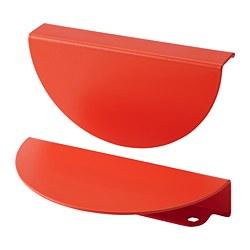 BEGRIPA - Gagang, oranye/setengah bulatan, 130 mm