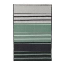 LUSTRUP - Karpet, bulu tipis, abu-abu/aneka warna