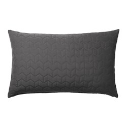 KÖLAX - Cushion cover, grey