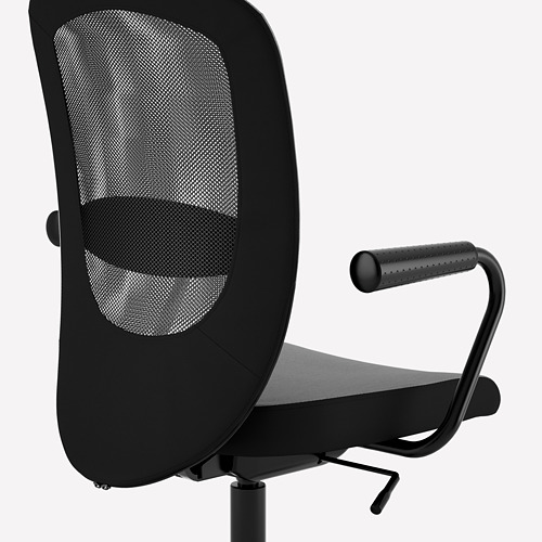 NOMINELL/FLINTAN office chair with armrests