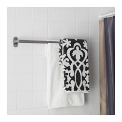 BROGRUND - Towel rail, stainless steel
