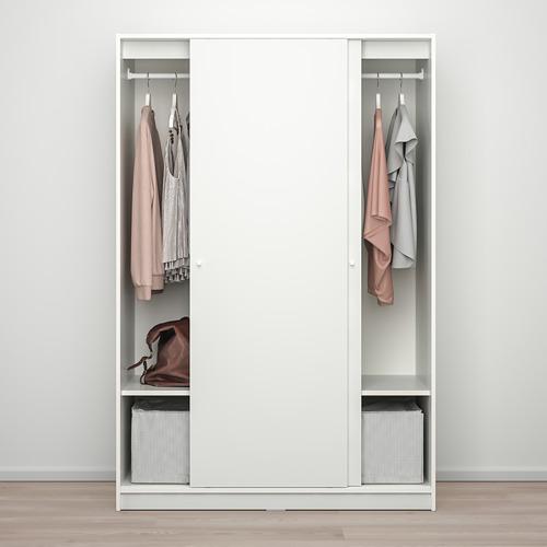 KLEPPSTAD lemari pakaian dg pintu geser
