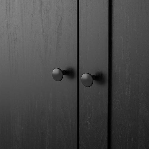 RAKKESTAD lemari pakaian 3 pintu