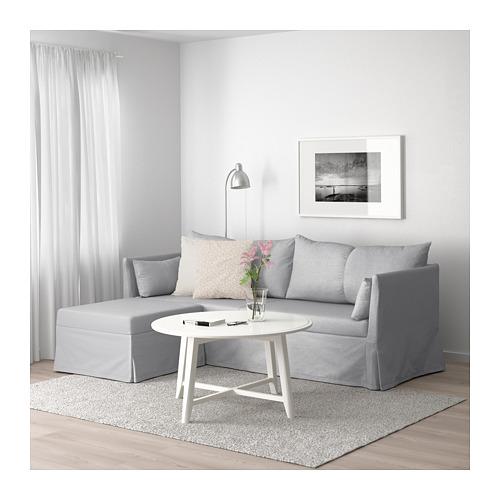 SANDBACKEN corner sofa-bed