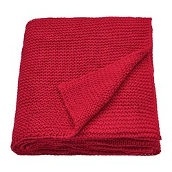 INGABRITTA - Throw, red