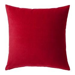 SANELA - Sarung bantal kursi, merah
