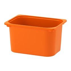 TROFAST - Kotak penyimpanan, oranye