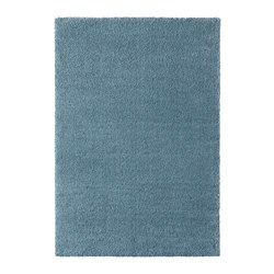 STOENSE - Rug, low pile, medium blue