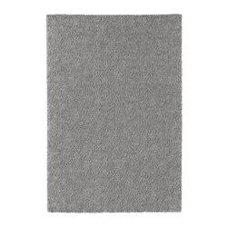STOENSE - Rug, low pile, medium grey