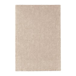 STOENSE - Rug, low pile, off-white