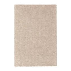 STOENSE - Karpet, bulu tipis, putih pudar