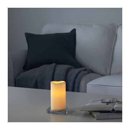 GODAFTON lilin blok LED, dalam/luar ruang