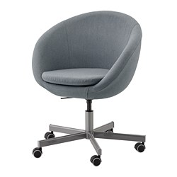 SKRUVSTA - SKRUVSTA, swivel chair, Vissle grey