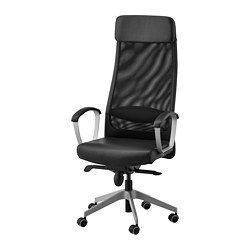 MARKUS - Office chair, Glose black