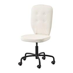 LILLHÖJDEN - Swivel chair, Blekinge white